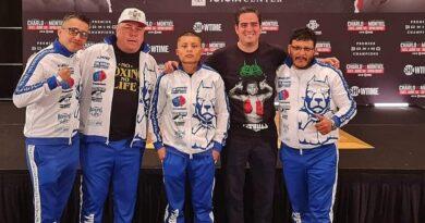"Isaac Cruz, Manuel Garrido, Miura Boxing, Francisco ""Bandido"" Vargas"
